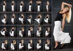 Stock: Gianna Moving in Long Skirt - 24 Images