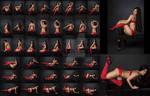 Stock: Noela Meida Red Lingerie - 41 Images