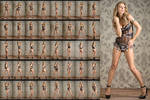 Stock: Alina Lingerie Standing Poses - 41 Images