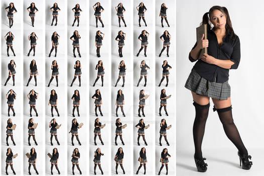 Stock: Julia Steel School Girl - 48 Images
