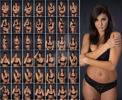 Stock: Rebecca Body Chain Portraits - 43 Images