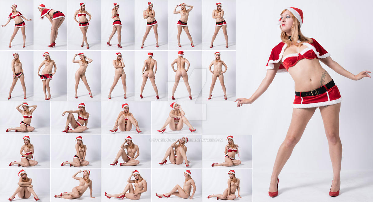 Stock: Ivy Sexy Santa Outfit - 28 Images by stockphotosource