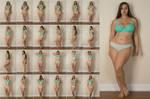Stock: Lillias Turquoise Bra Panties - 24 Images