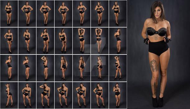 Stock: Rebecca Glam Stud Bra Standing - 28 Images
