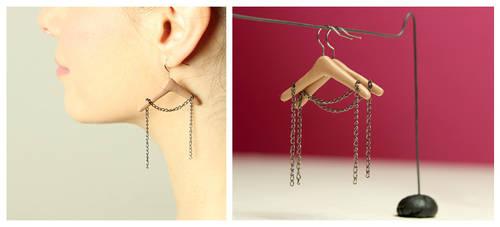Hanger Earrings by designandberries