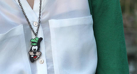 Goofy Goof Necklace