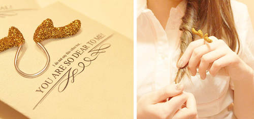 The Dear Ring by designandberries