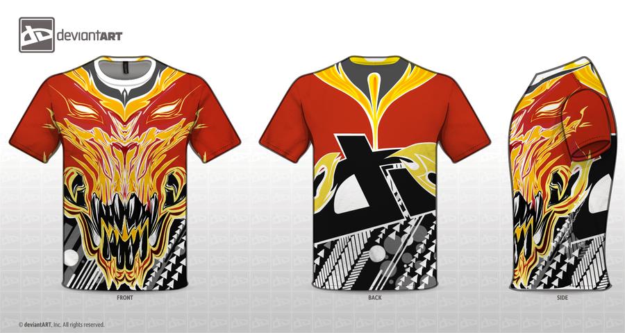 Dragon T-Shirt by Samir-Z3