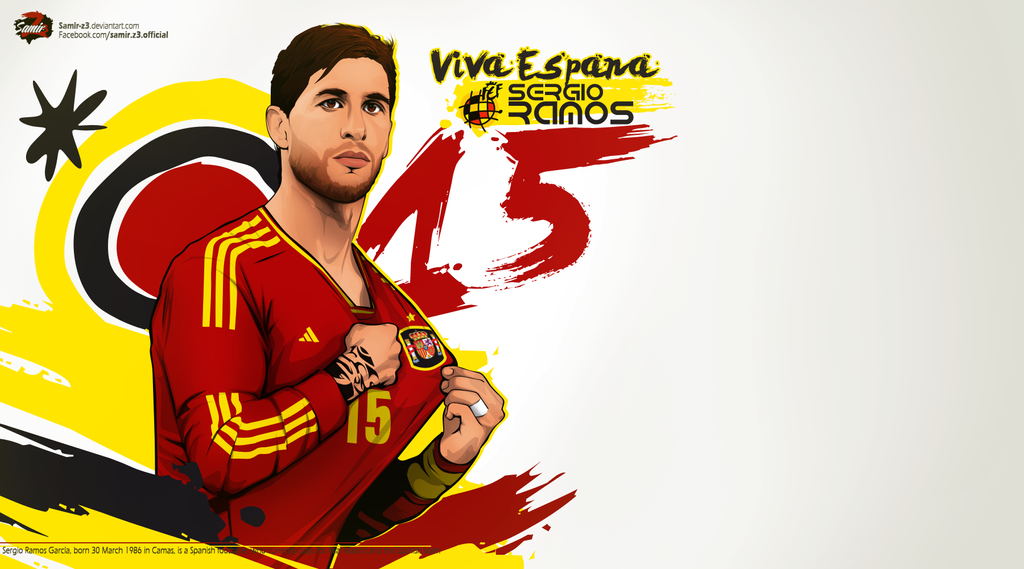 Sergio Ramos by Samir-Z3