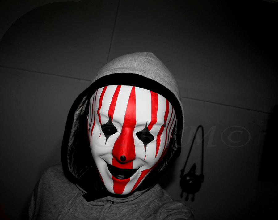 masker horror clown
