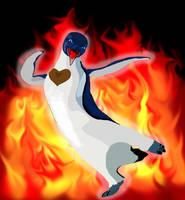 Fire Burning on da Dance Floor by Zairianara