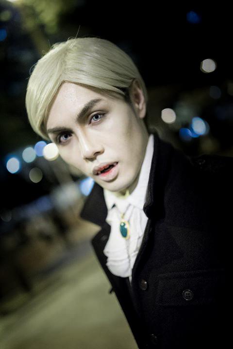 Vampire Erwin on the Streets by captamzai