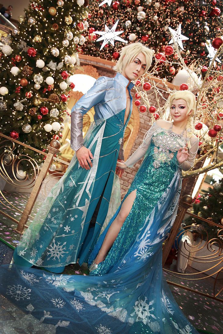 Elsa and Elson by captamzai
