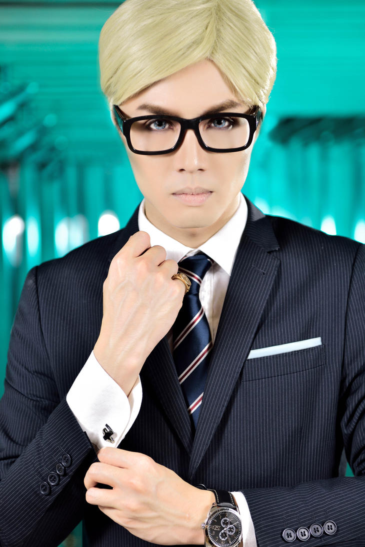 Erwin - Kingsman Crossover by captamzai