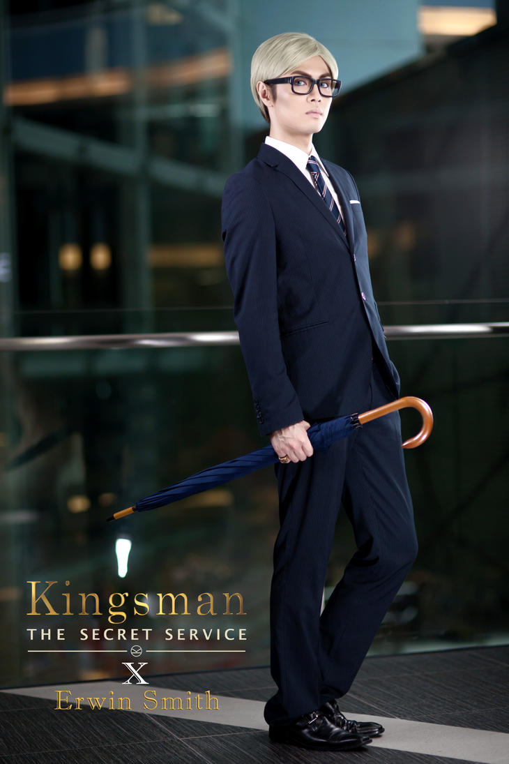 Erwin - Codename: Galahad [[Kingsman Crossover]] by captamzai