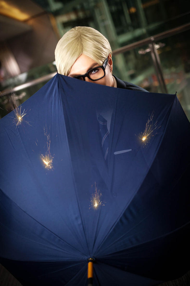 Kingsman Erwin - Bulletproof Umbrella by captamzai