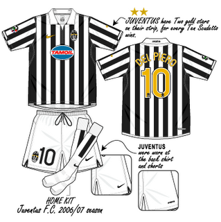 Juventus 2006-2007 Home by DaShiR