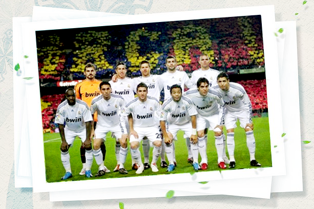 real madrid 2011 team picture. real madrid 2011 logo.