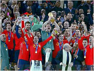 Winner spain 2010 World Cup by DaShiR