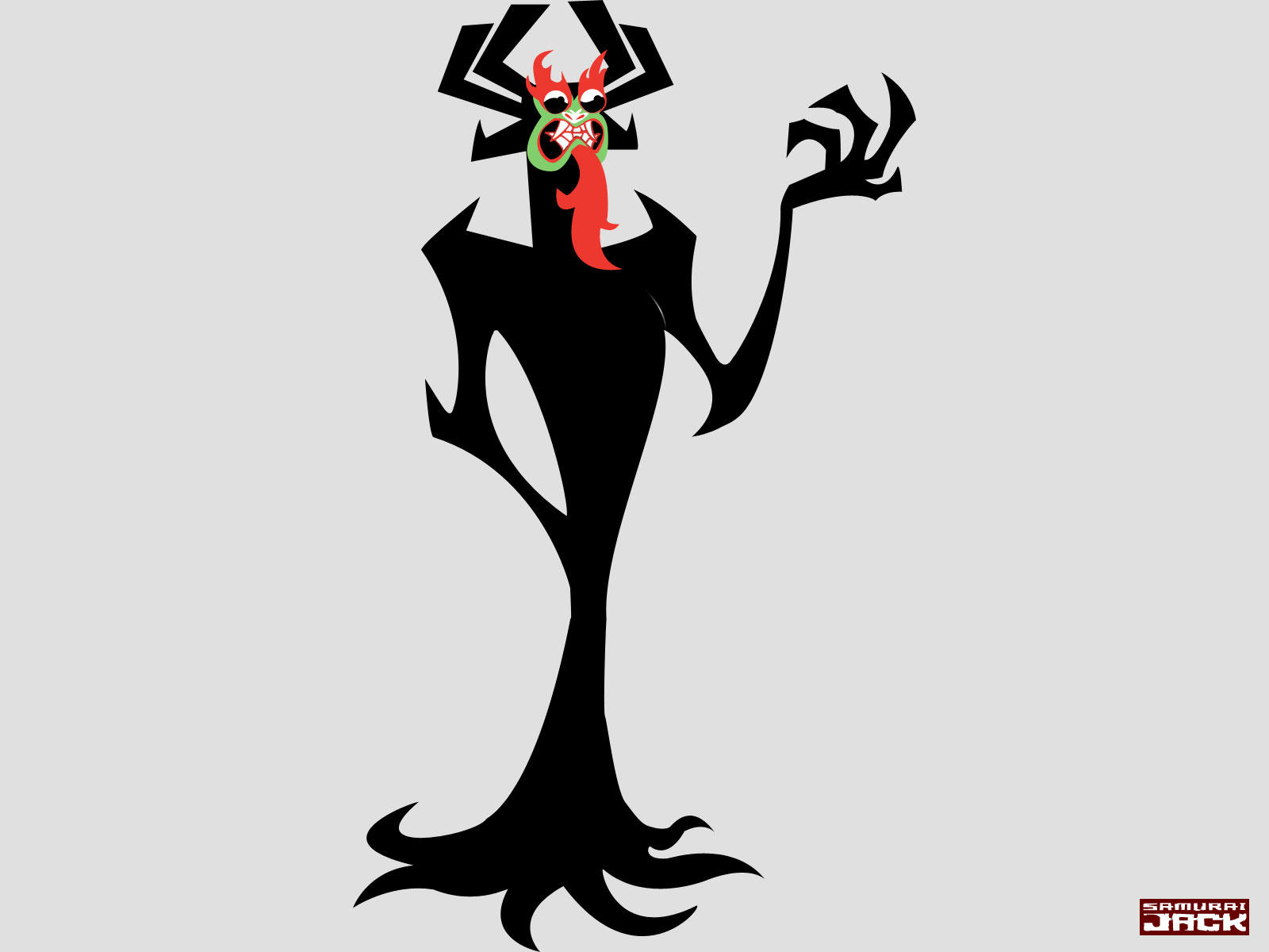 Cartoon Characters Named Jack : Aku by seminis on deviantart
