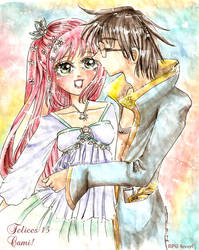 Lily and James shoujo manga by james-potter