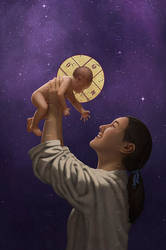 For unto us a Child is born by Elandain