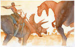 Hunter Becomes the Hunted by Elandain