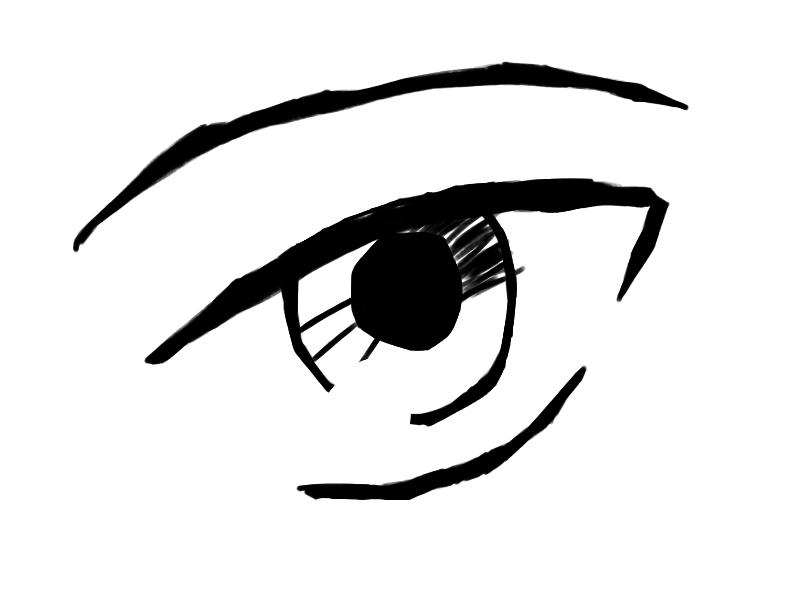 Male anime eye by eramthgin-1027501 on DeviantArt