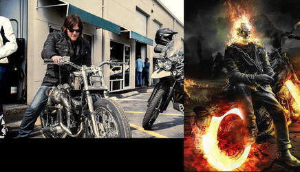 Norman Reedus as ghost rider