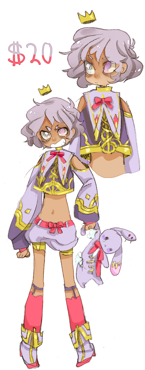 Anime Characters For Sale : Design for sale purple prince sold by costly on deviantart