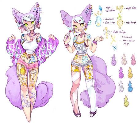 Design For Sale: Lollipop Fox (SOLD)
