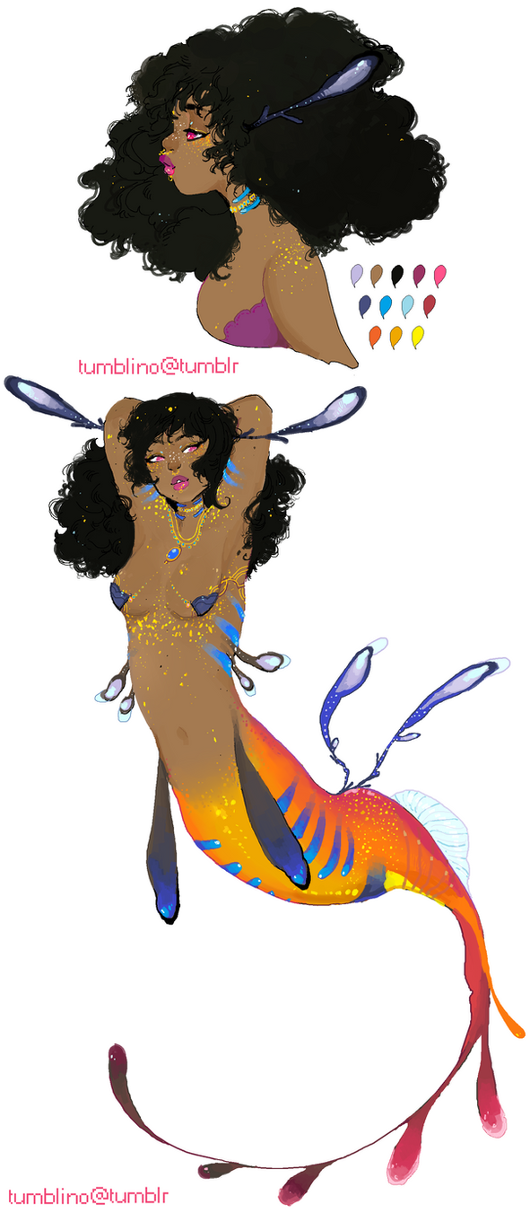 Adopt for sale: Leafy Gold mermaid (OPEN) by Costly
