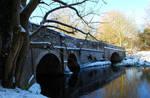 Snowy Bridge.