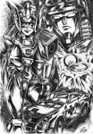 Minerva transformers pin - up