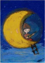 Maja chante  la Lune - 2