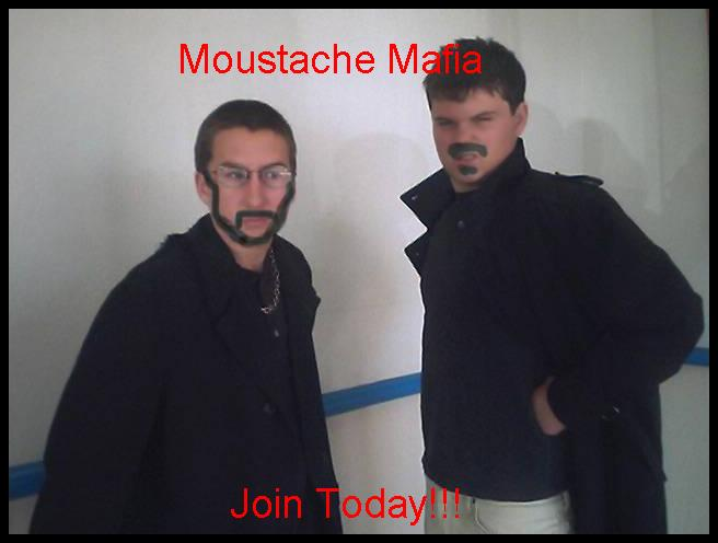 The Moustache Mafia by StarAtreyu