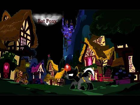 Bat pony scene