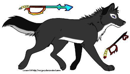 Ventus the wolf