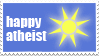 Happy Atheist by MaruLovesStamps