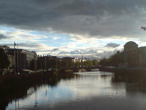 River Liffey by kohtalo8