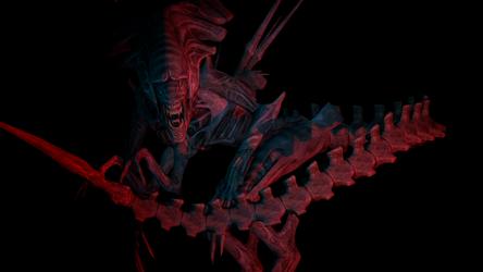 [SFM] Xenomorph Queen Desktop