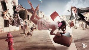 Roman Levitation by adieyjunaidi