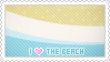 Stamp: I love The Beach by apparate