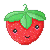 Free Avatar: Strawberry (Smile) by apparate