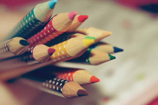 Rainbow Pencils by apparate
