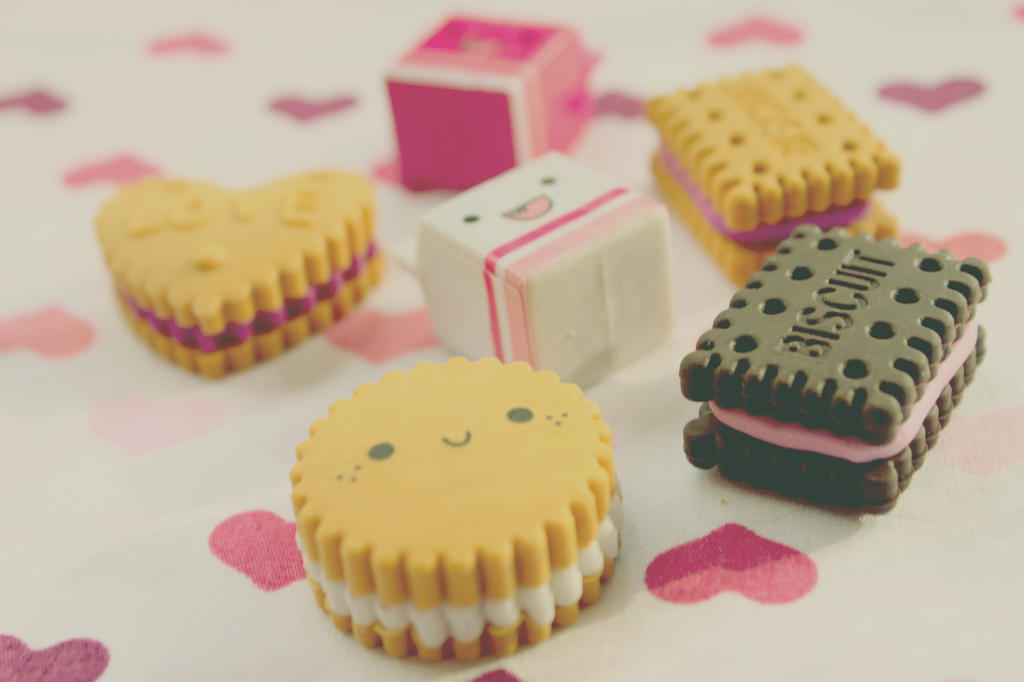 Cute Erasers by apparate