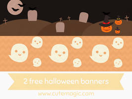 Halloween Banners by apparate