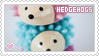 Stamp: Hedgehogs by apparate