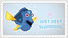 Stamp: Just Keep Swimming by apparate