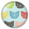 Button/Badge: Cats by apparate